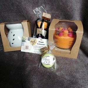 Bougie artisanale et fondant parfumes
