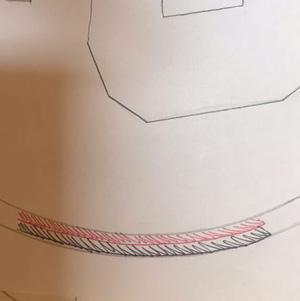 Cadre en fil