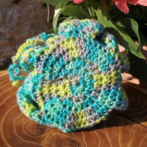 Fleur de douche tawashi crochet7