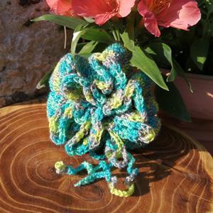 Fleur de douche tawashi crochet8