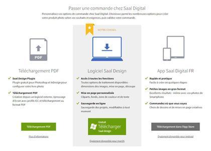Saal digital logiciel